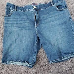 Lee total freedom 22 Bermuda jeans